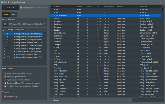 FL Studio Plugin Manager -